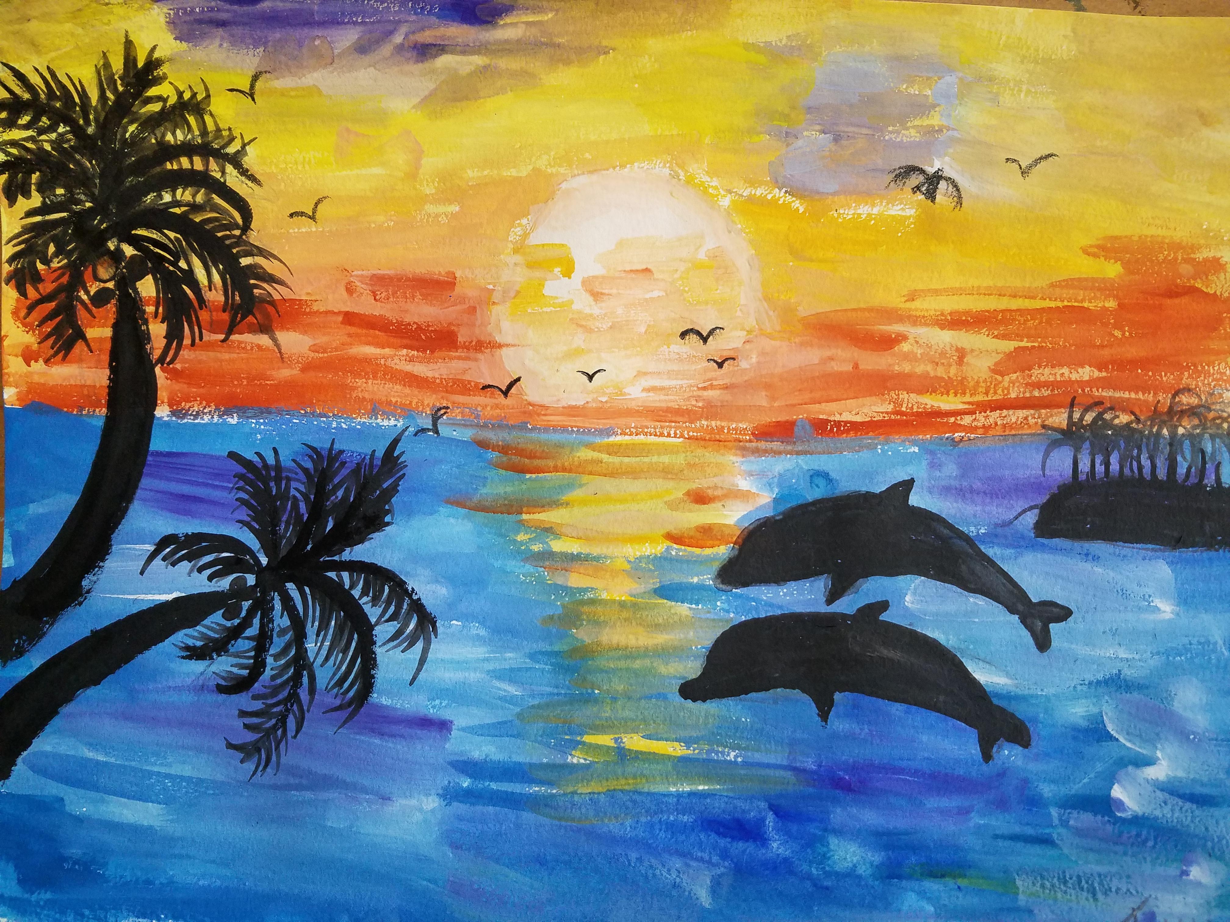Dolphin Art - Age 11