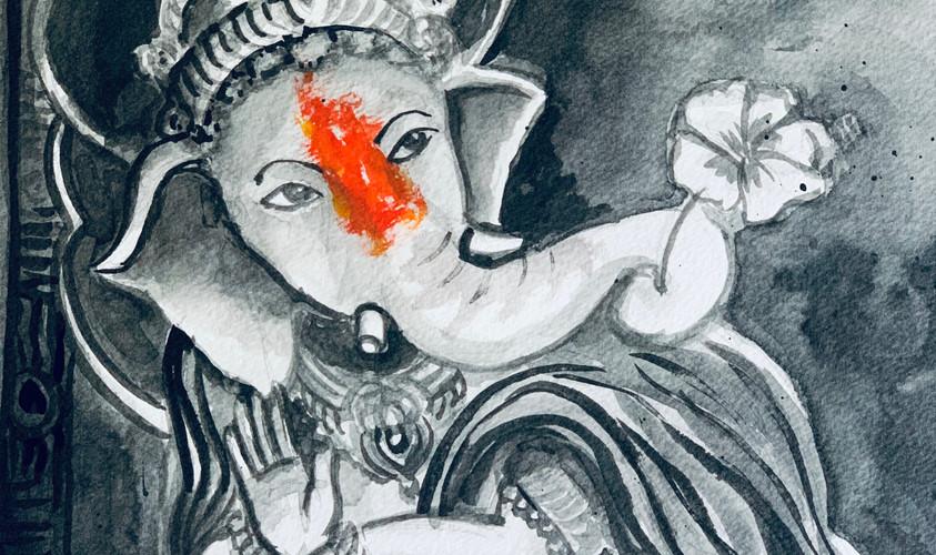 Natraja Ganesha