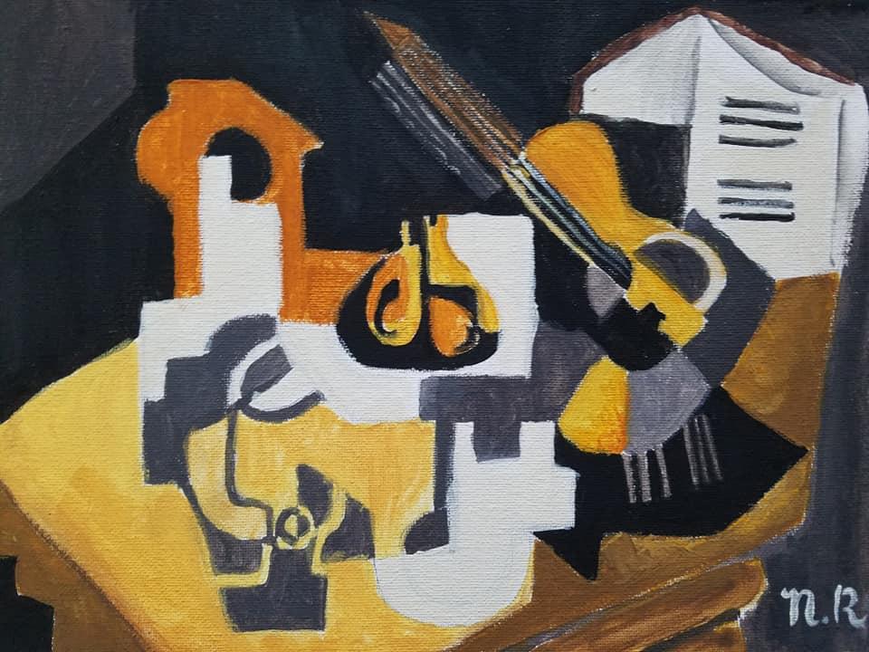 Cubism Still Life- Age 12