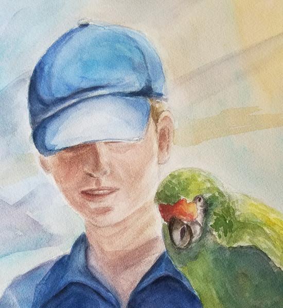 The  Parrot Girl