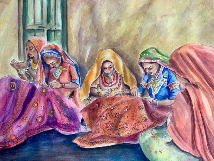 Weaving Colors