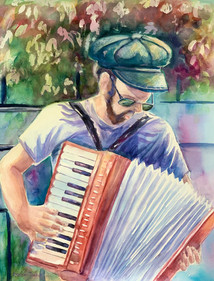 The Accordion Performer In Quebec