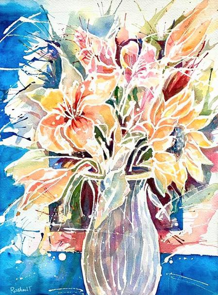 Sunflower & Lilies Bouquet
