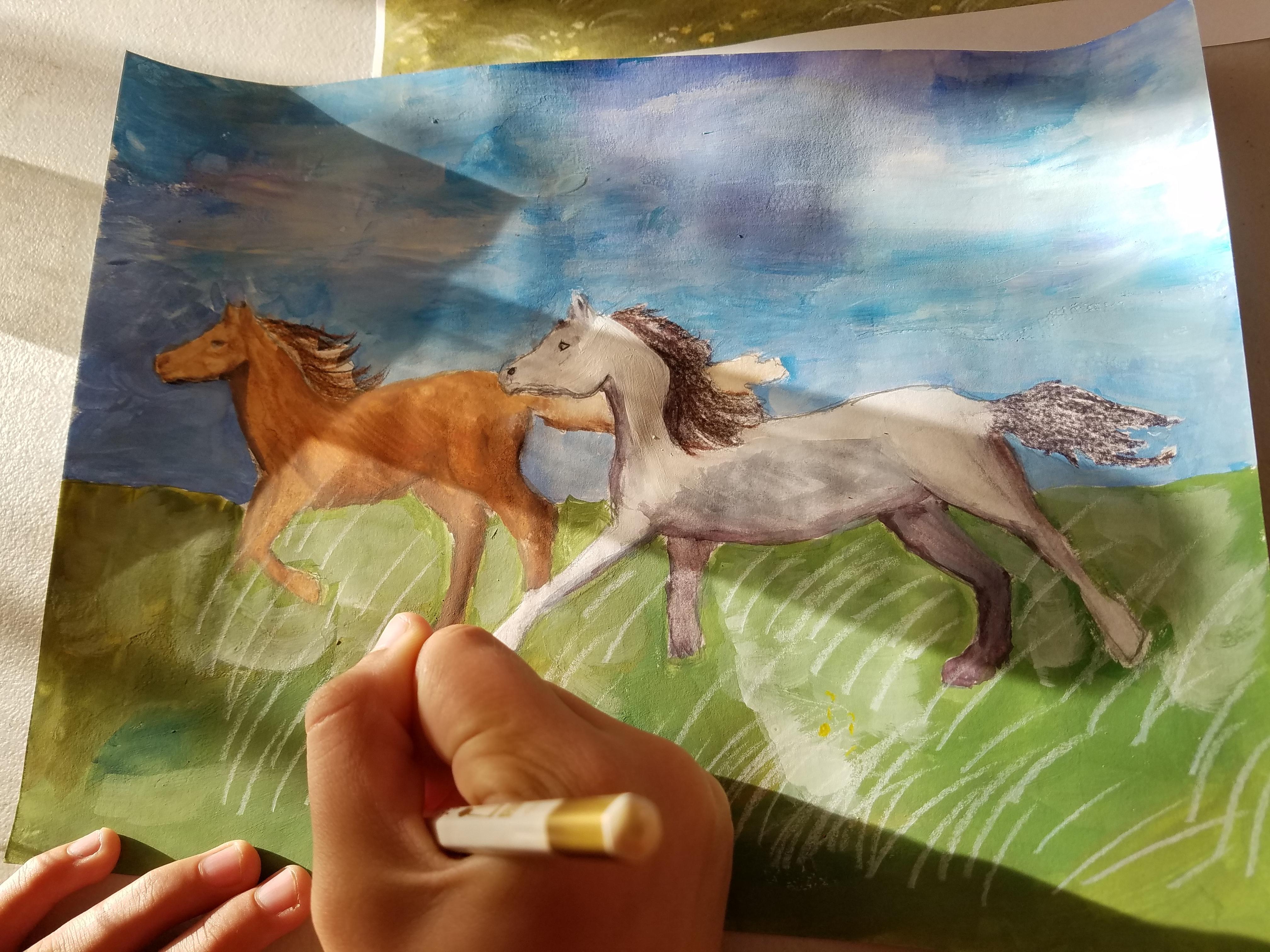 Horses By Ayla