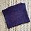 Thumbnail: Indigo Tweed Zipper Pouch