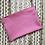 Thumbnail: Indigo Hand Dyed Pink Zipper Pouch