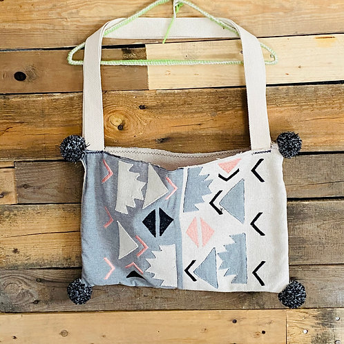 Geometric Pillow Bag