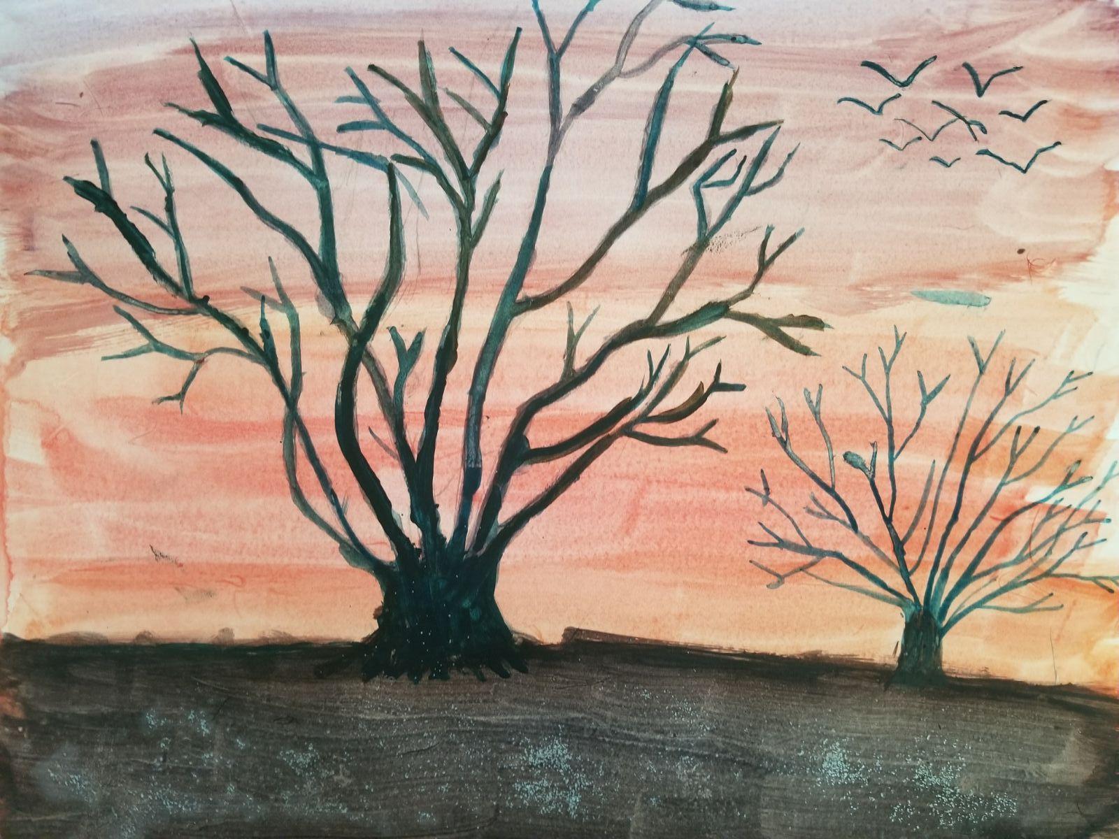 Watercolor Landscape- Kid 8