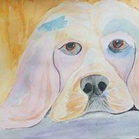 Puppy Art -Age 10