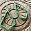 Thumbnail: Green Kite Beaded Earring