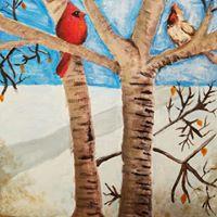 Landscape In Acrylic- Kid 10