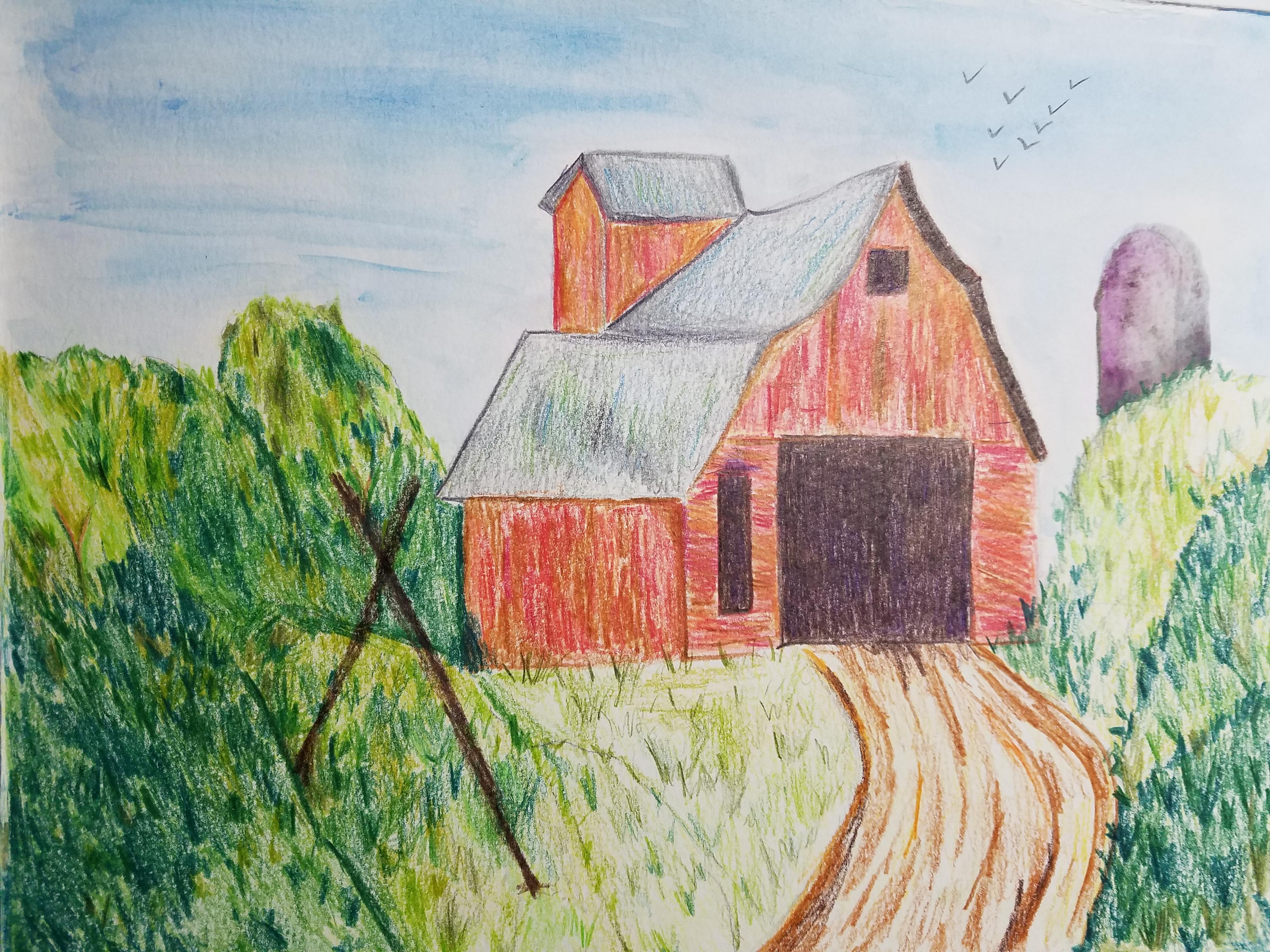 Landscape Barn- Age 11