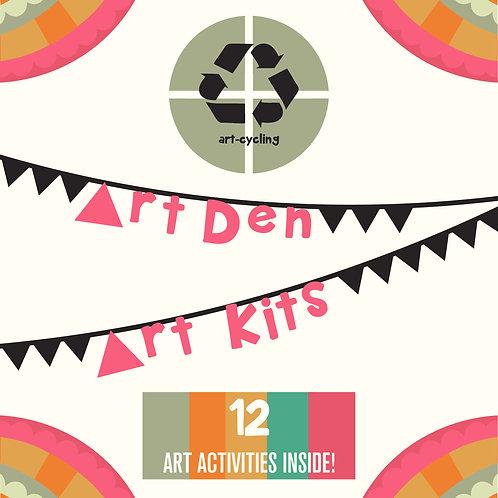 ArtDen Art Kit 12 Upcycling Art Activities