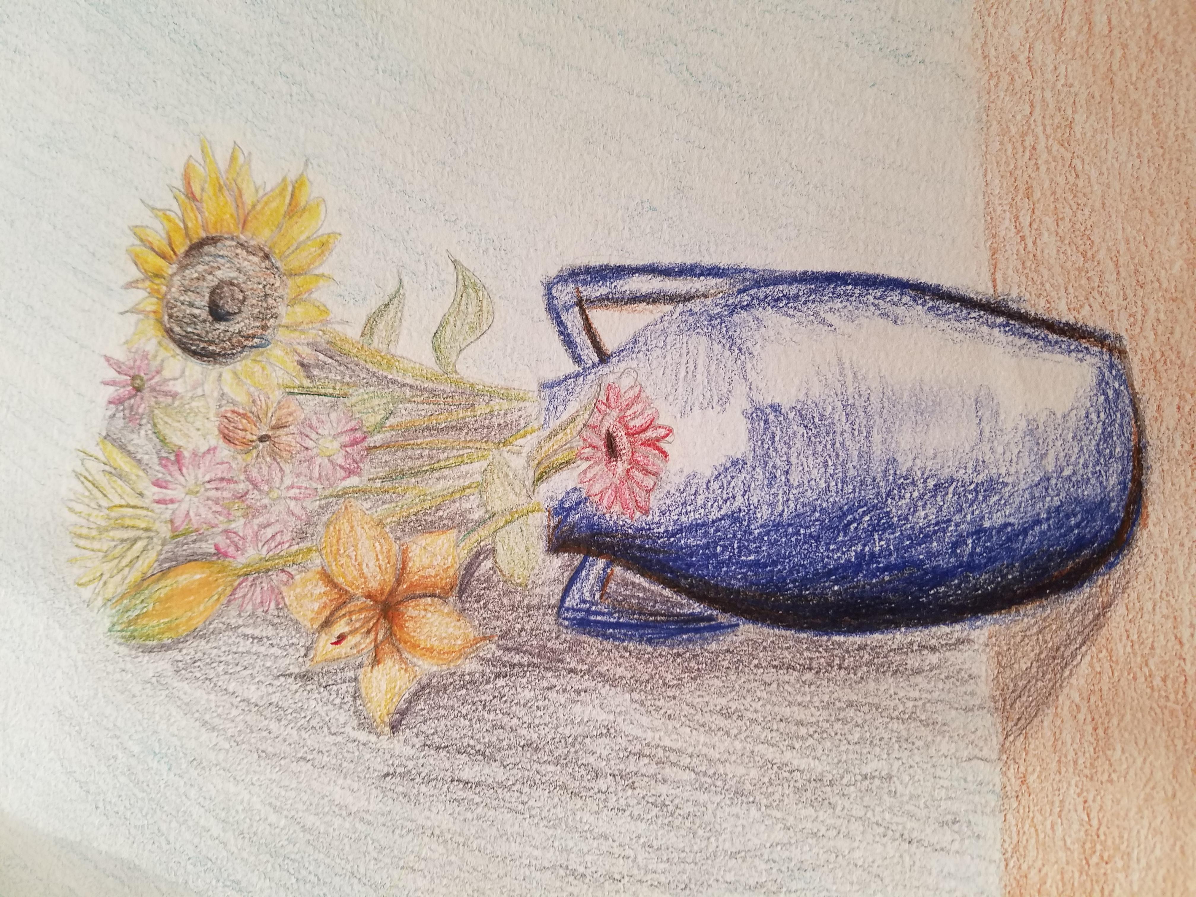 Vase Still Life - Age 10