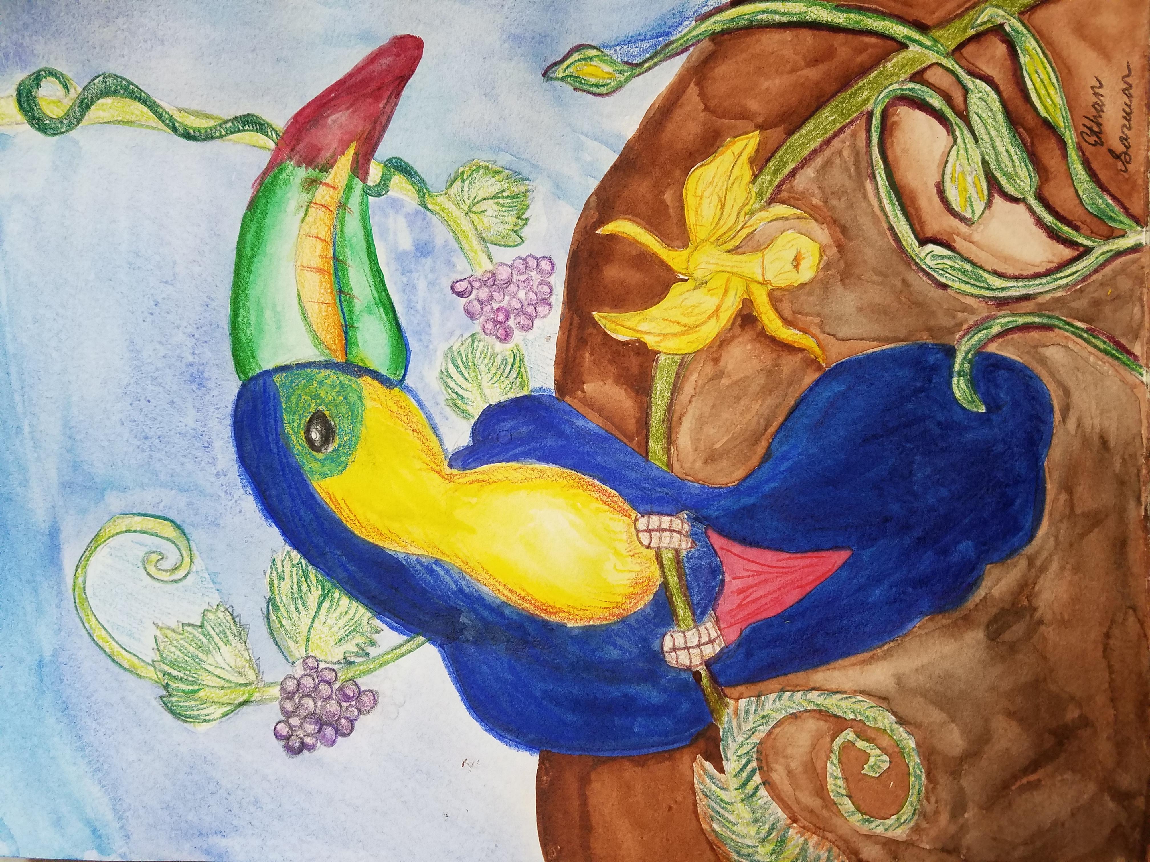 Bird Art - Kid 10