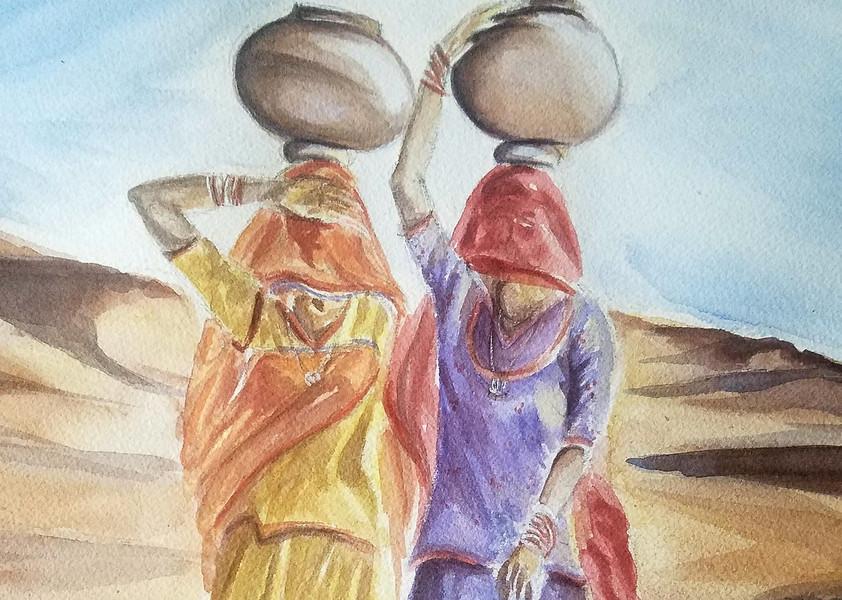 Looking For Water- Rajasthan Series