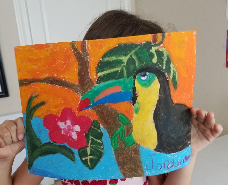 Bird Art - Age 7