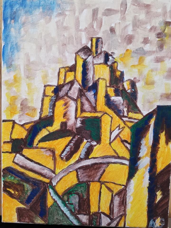 Cubism  Landscape -Age 10