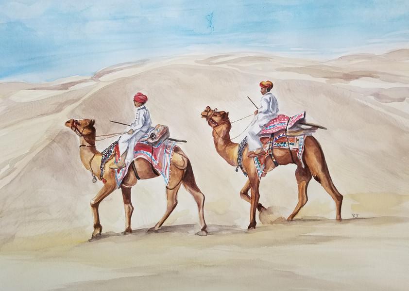Desert Travellers Of Rajasthan       Series