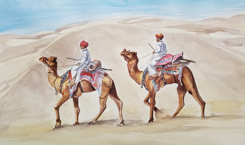 Desert Travellers Of Rajasthan       Series