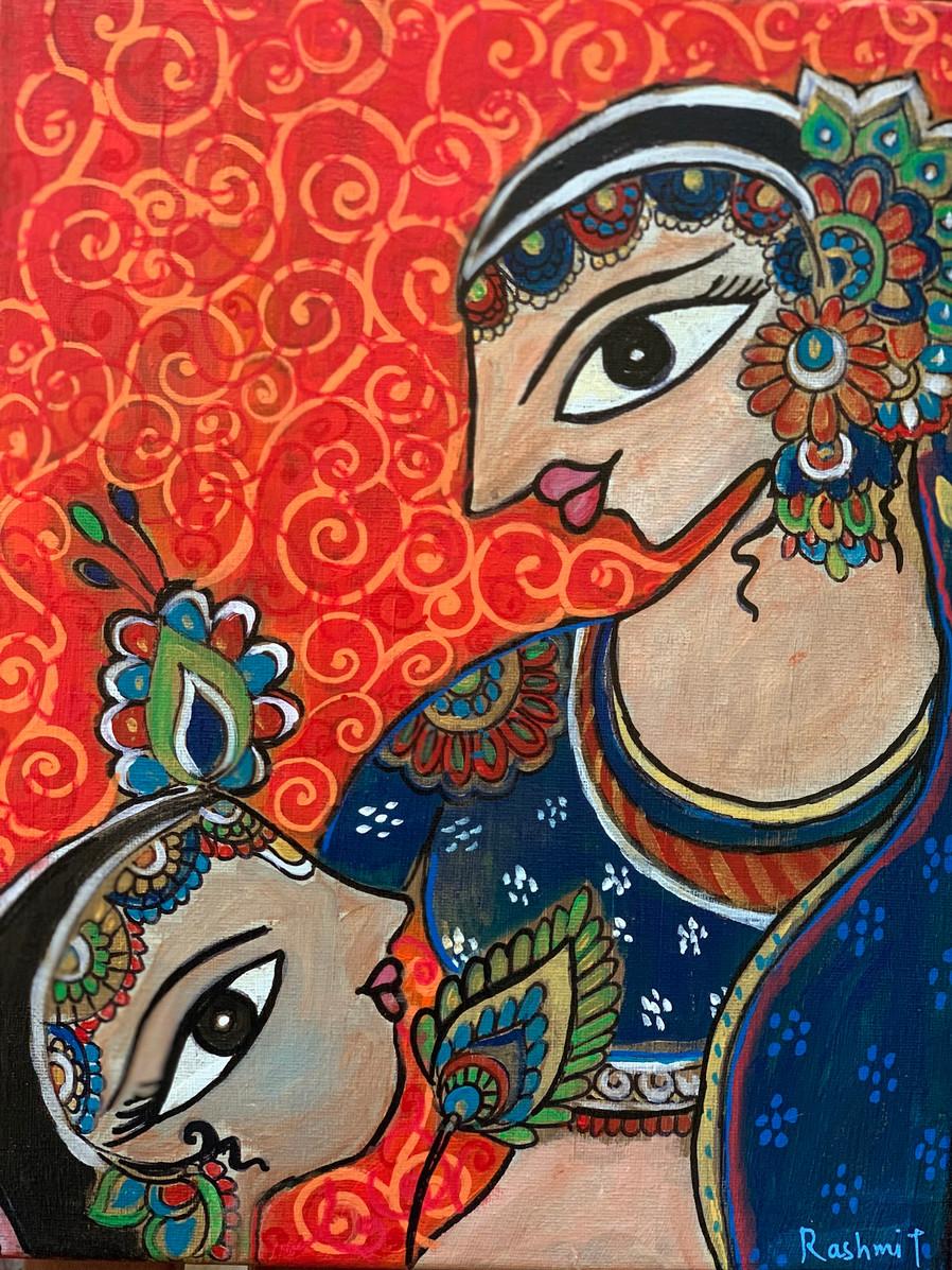 Bal Krishna & Yashoda