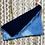 Thumbnail: Blue Velvet Indigo Hand Dyed Zipper Pouch