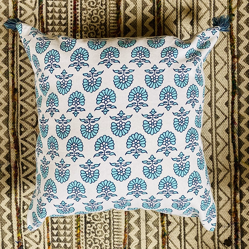 Spring Tassel Pillow Cover