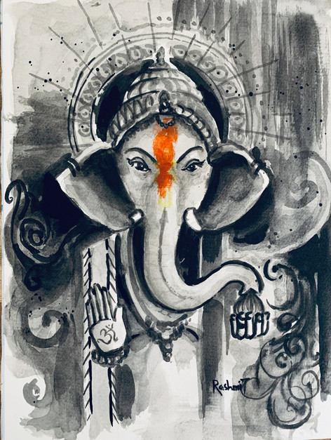 Ohmkara Ganesha