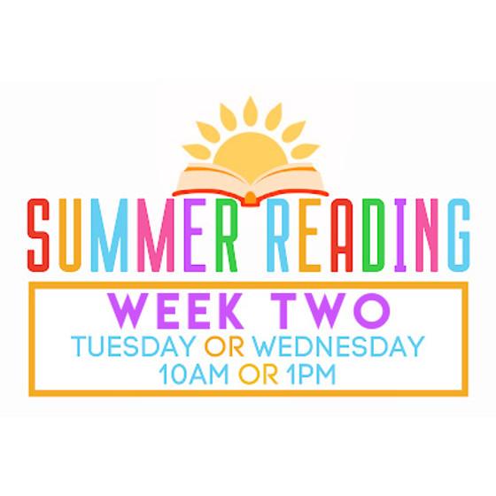 Summer Reading Week 2 (Puppy Dog Tails)
