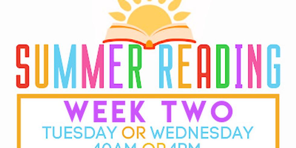 Summer Reading Week 2 (Hero Tails)