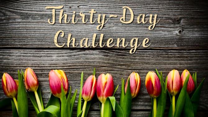 Prayer challenge...