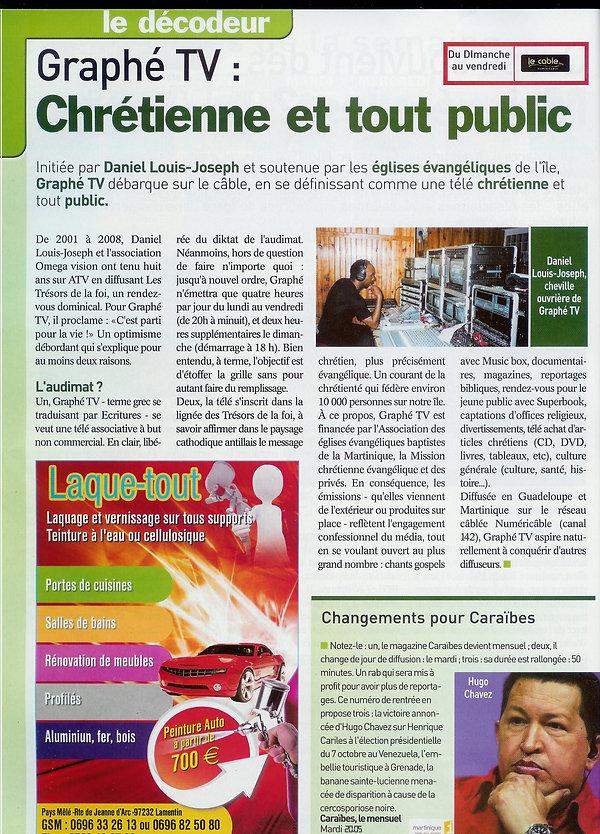 Article de presse Graphé tv 112.jpg