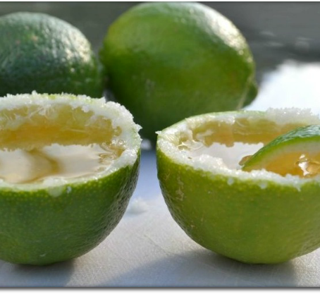 Tequila Lime Shots