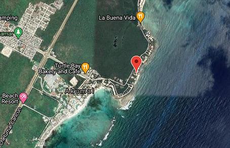 Casa Sea Gate map.png