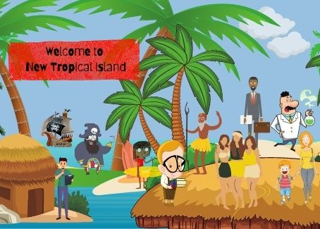 New Tropical Island - Part 1: The Arrival