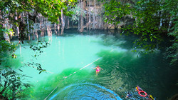 Cenote Swim