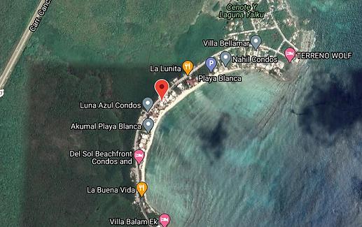 Villas Flamingo map.png