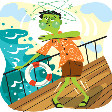 Feeding the Fish - How to prevent and treat seasickness.
