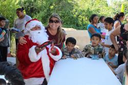 Santa visits Nuevo Durango