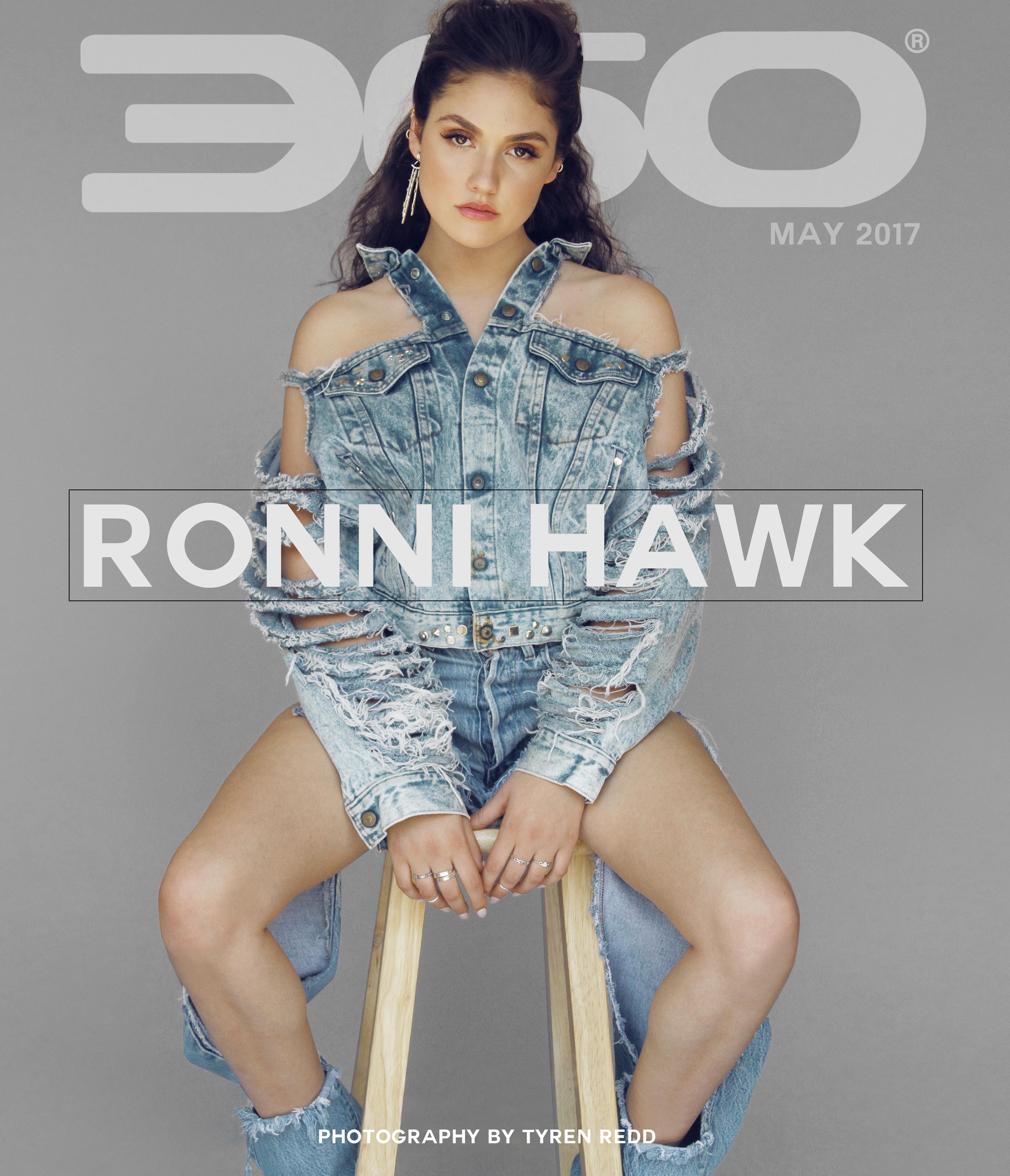 360 Magazine x Ronni Hawk