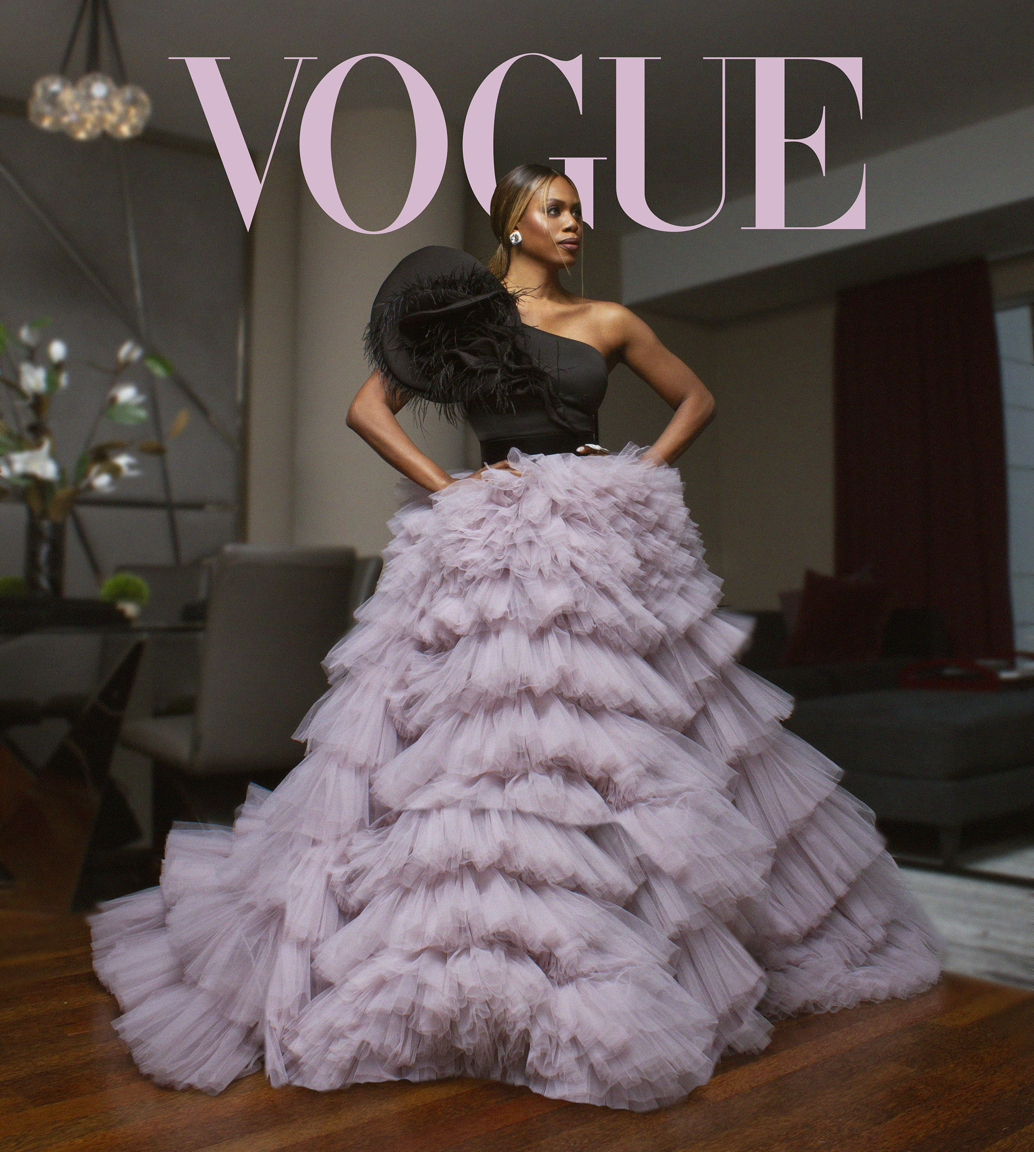 Laverne Cox for Vogue Photo By Tyr