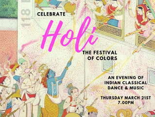 Holi! Kathak celebration in VT