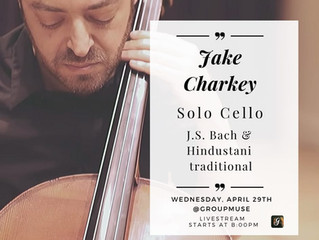 Solo Cello J.S. Bach & Hindustani Traditional @Groupmuse