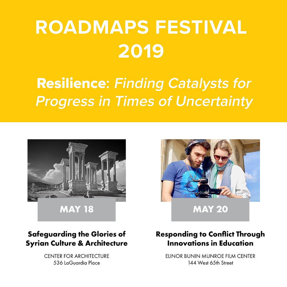 Roadmaps Festival 2019: Responding to Conflict Through Innovations in Education