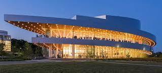 Hancher Auditorium with Sarafand