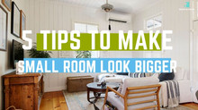 5 tips that make small room look bigger