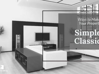 6 Ways To Make Your Property Simple Classic