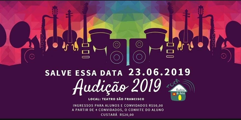 audição 2019 - Toca Paulista de Artes