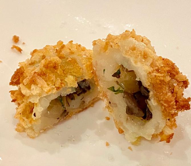 Mushroom Potato Cakes