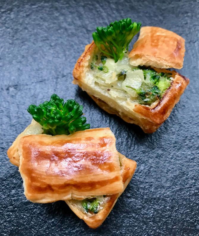 Broccoli and Stilton boxes